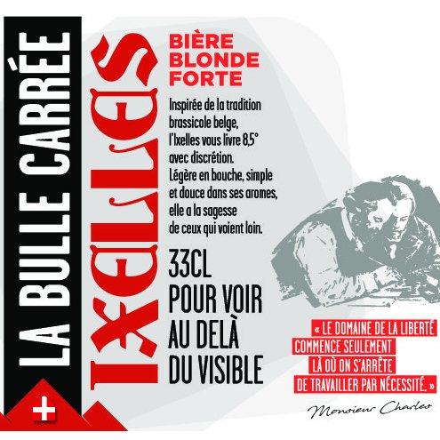 La Bulle Carrée - Ixelles - Bière - Blonde Belge - Bouteille - 0.33L