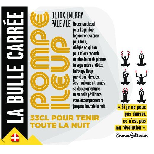 La Bulle Carrée - Pompe Ileup - Bière - Blanche de Sarrasin - Bouteille - 0.33L