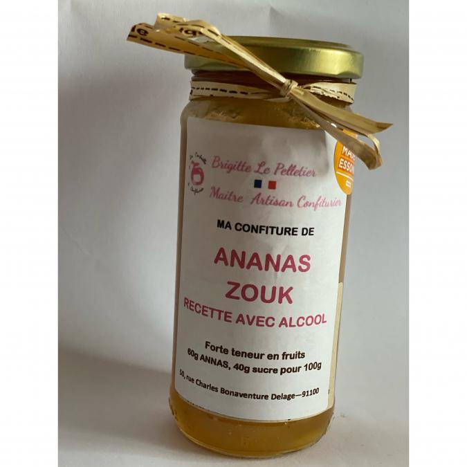 La Corbeille à Confitures - Ananas zouk - Confiture - 280