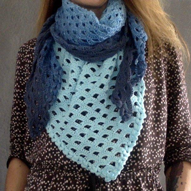 La Fée Crochette - Grand châle nuance - Châle