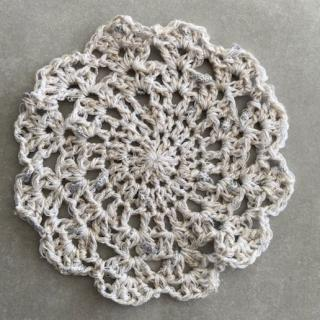 La Fée Crochette - Lot de 4 Napperons Élégance - Sous-bock