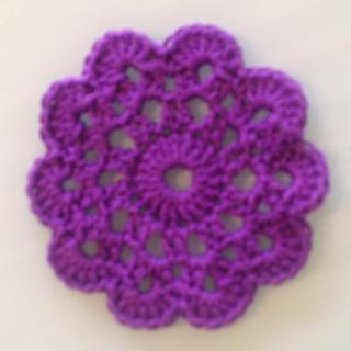 La Fée Crochette - Lot de 7 sous-verres HAPPY-10 couleur chakra - Sous-bock