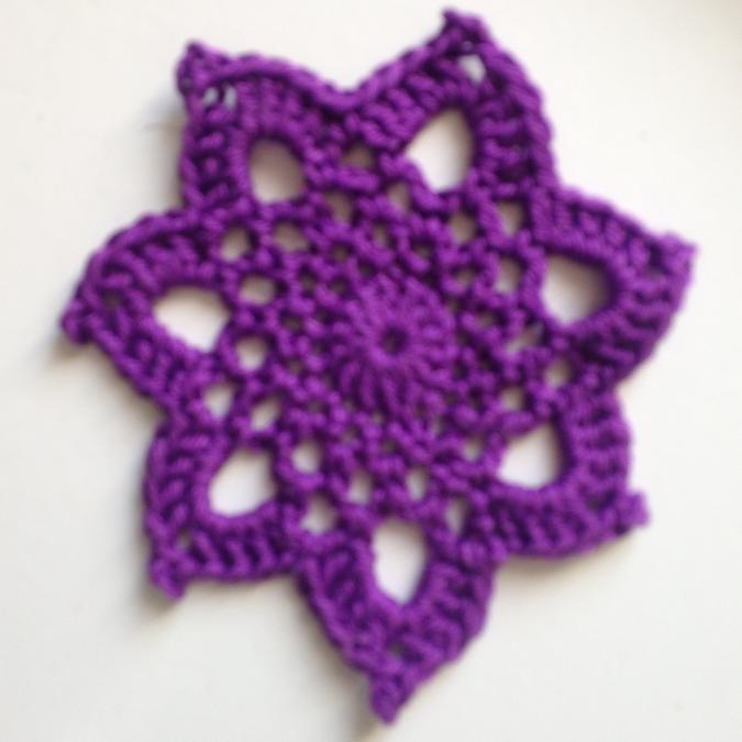 La Fée Crochette - Lot de 7 sous-verres STAR-7 couleurs chakra - Sous-bock