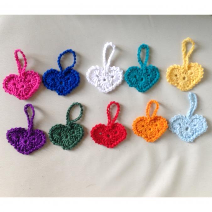 La Fée Crochette - Porte-Clés Coeur - Porte clé