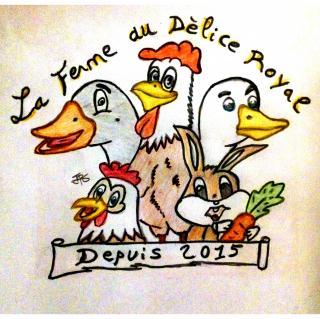 La ferme au délice royal - Terrine de canard aux trompette de la mort - Terrine de canard