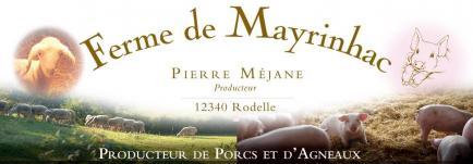 La ferme de mayrinhac - Producteurs de porcs lourds, d'agneaux sous la mère et de charcuteries traditionnelles