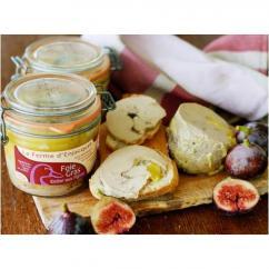 La Ferme d'Enjacquet - Foie gras de canard entier aux figues 375gr - Foie gras - 375 gr