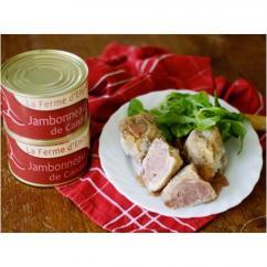 La Ferme d'Enjacquet - Jambonneau de canard - Plat préparé - 220 gr