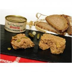 La Ferme d'Enjacquet - Rillettes Porc / Canard - Rillettes - 200 gr