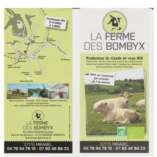 chevrerie des montfleury - Viande bovine bio - Colis de boeuf