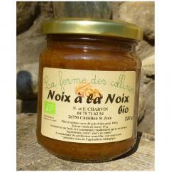 La Ferme des Collines - NOIX À LA NOIX - Pâte à tartiner - 0.38