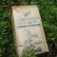 la ferme du Blot - lentilles vertes AOP du Puy 1kg - Lentille