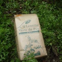 la ferme du Blot - Lentilles vertes AOP du Puy - Lentille