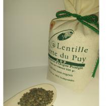 la ferme du Blot - Lentilles vertes AOP du Puy 3kg - Lentille