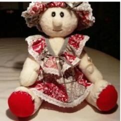 """La joie du fait main - Poupée """"juliette"""" - poupée déco"""