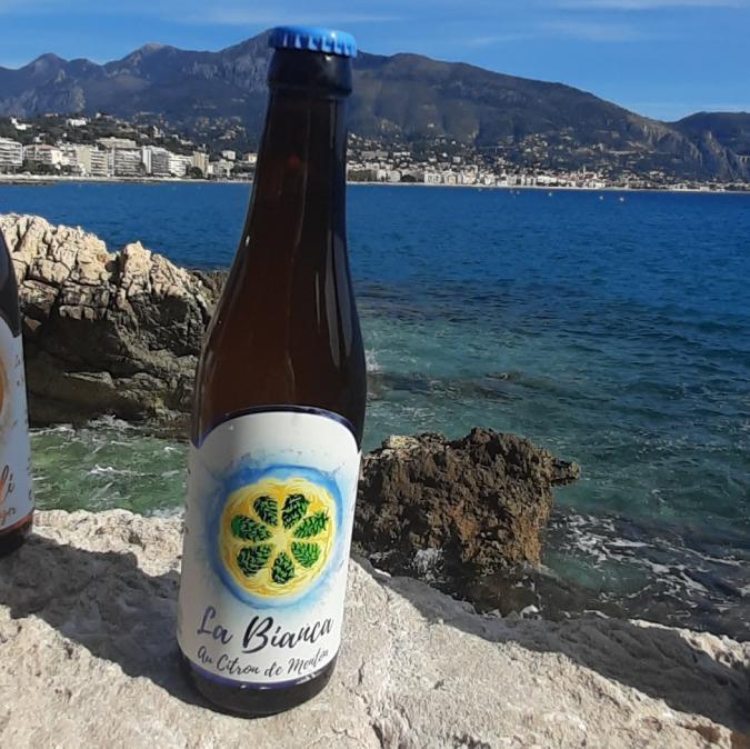 LA MENTOUNASC - La BIANCA pack de 6 - Bière - Blanche - Bouteille - 0.33L