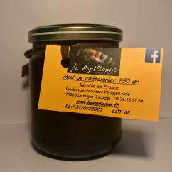 La papillonne - Miel de Châtaigner - 250 gr - Miel - 0.250
