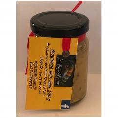 La papillonne - Moutarde noix-miel - 100 gr - Moutarde