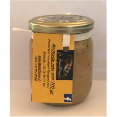 La papillonne - Moutarde noix-miel - 200 gr - Moutarde