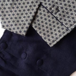 La petite fabrique toulousaine - Ensemble lin et coton 6-9 mois - vetements enfants