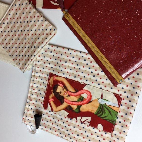 La petite fabrique toulousaine - Kit de voyage n° 10 - pochette, sac à main