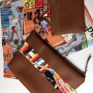 La petite fabrique toulousaine - Kit de voyage n° 11 - pochette, sac à main