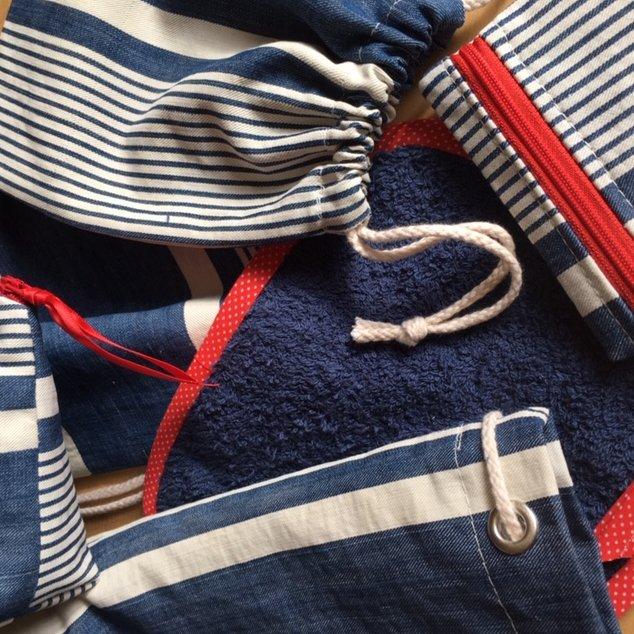 La petite fabrique toulousaine - Kit de voyage n° 13 - pochette, sac à main