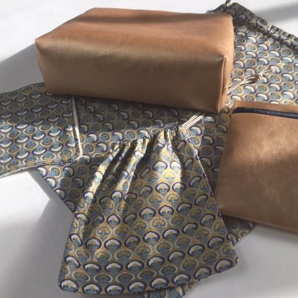La petite fabrique toulousaine - Kit de voyage n° 6 - pochette, sac à main