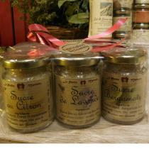 LA PETITE MERLETTE - Lot de x 3 pots de Sucre aromatiques - Sucre - 100 gr x 3