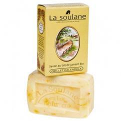 La Soulane - Savon ŒILLET CALENDULA - Savon - 100 gr