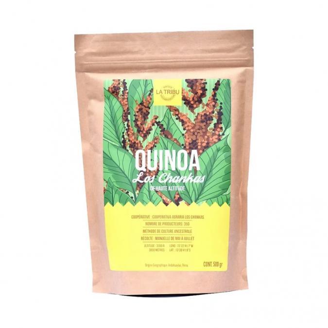 LA TRIBU - Quinoa Los Chankas Pérou 500g Équitable & Bio - Quinoa