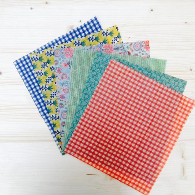 L'abeille qui emballe - LE WRAP MEDIUM: L'ÉCOLO - Emballage réutilisable