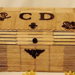 La boite à kdo - Coffre de rangement pour CD - coffre de rangement