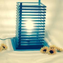 La boite à kdo - Lampe en bois à poser - Lampe de table - ampoule(s)