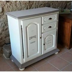 La cabane-a-deko - Buffet  Bistrot - meuble