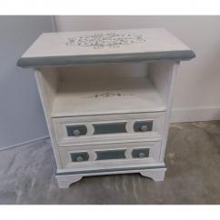 La cabane-a-deko - Chevet campagne chic - Table de chevet