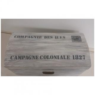 La cabane-a-deko - Coffre Compagnie des Iles - coffre de rangement