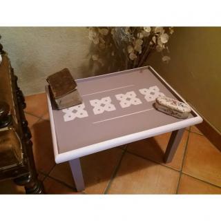 La cabane-a-deko - Table d'appoint Roselyne - Table basse - bois