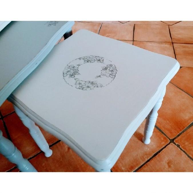 La cabane-a-deko - Tables gigognes vintage - Table basse - bois