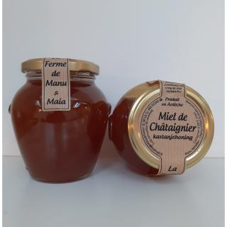 La ferme de Manu et Maia - Miel de printemps 250g liquide - Miel -
