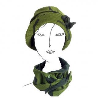 La forêt des chapeaux - Octroy - Echarpe - Vert