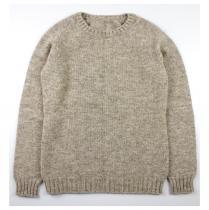 Laines Paysannes - Pull mixte asphodèle gris - Pull & Gilet - Gris