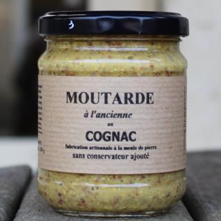 La moutarderie confiserie - Moutarde à l'Ancienne au Cognac - Moutarde