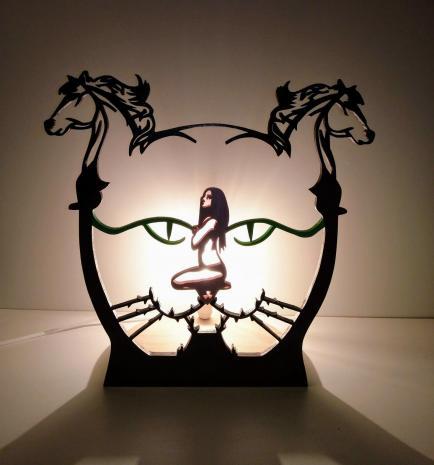 Lampaline - Créateur de luminaires artisanales en bois, veilleuses LED pour votre intérieur et extérieur