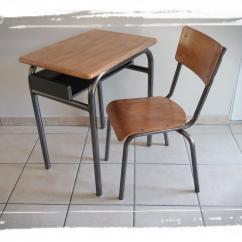 La Petite Fabrique d'Alban - Bureau écolier et sa chaise - Bureau -