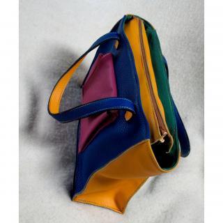 L'arbre à sac - Sac multicolore en cuir - Sac à main - Multicolore