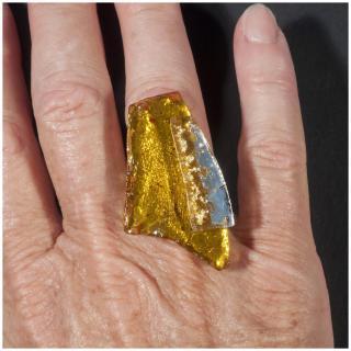 Bijoux l'Art de recycler - Bague en verre - Bague - Verre