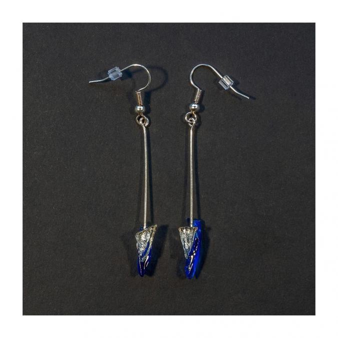 Bijoux l'Art de recycler - Boucles d'oreilles tige - Boucles d'oreille - Verre