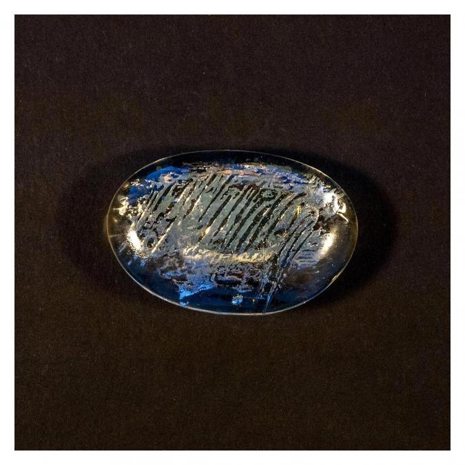 Bijoux l'Art de recycler - Broche boule - Broche
