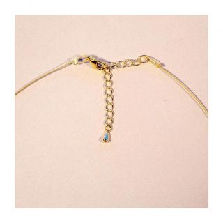 Bijoux l'Art de recycler - Collier tige - Collier - Verre
